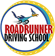 Road Runner Driving School Logo